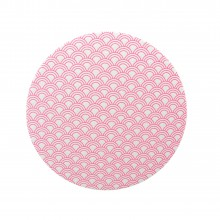 Coaster Fishcale neon-pink