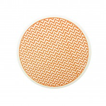 Coaster Chevron orange
