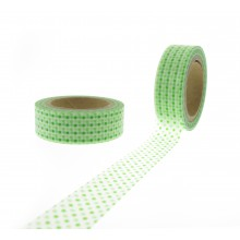 Washi Tape transparent Punkten