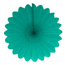 Fächer Flower Tissue teal