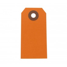Hang Tags 10er Pack orange