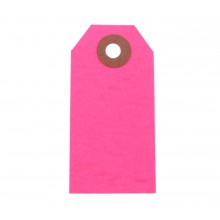 Hang Tags 10er Pack neon-pink