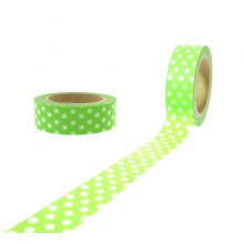 Washi Tape in lemonrün